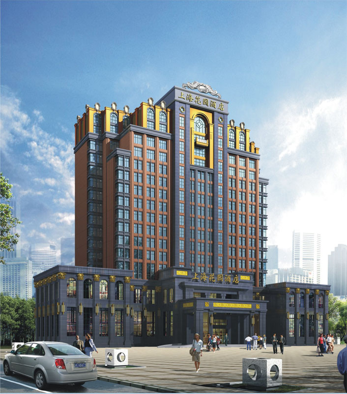 商丘市上海城市花园|建筑设计|成果展示|洛阳市规划院