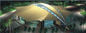 三亚体育中心网球训练馆
